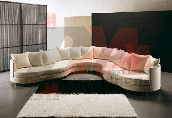 красиви извити нестандартни дивани